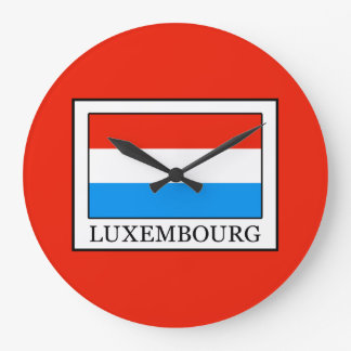 Luxembourg Large Clock