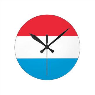 Luxembourg - Lëtzebuerg - Luxemburg Wall Clocks