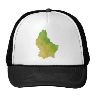Luxembourg Map Trucker Hat