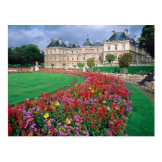 Luxembourg Palace in Paris France Post Cards