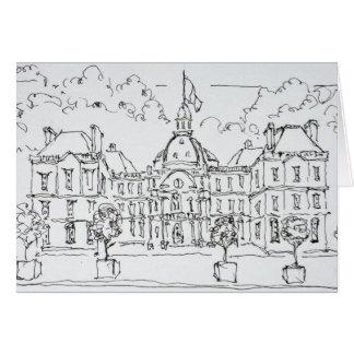 Luxembourg Palace | rue de Vaugirard, Paris Card
