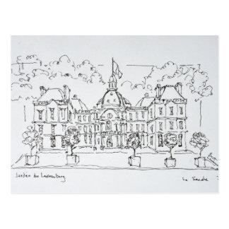 Luxembourg Palace | rue de Vaugirard, Paris Postcard