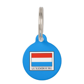 Luxembourg Pet Name Tag