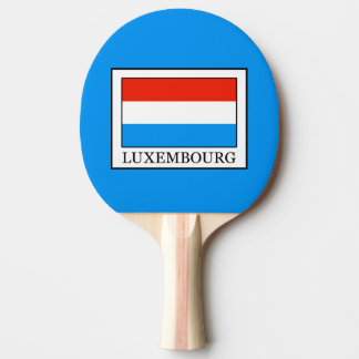 Luxembourg Ping Pong Paddle