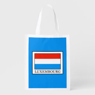 Luxembourg Reusable Grocery Bag