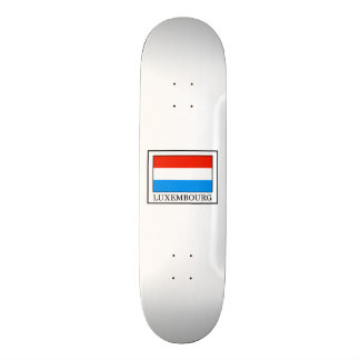 Luxembourg Skate Deck
