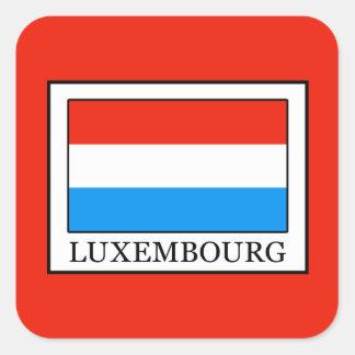 Luxembourg Square Sticker