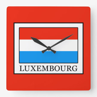 Luxembourg Square Wall Clock