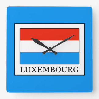 Luxembourg Wallclocks