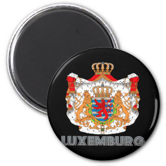Luxembourger Emblem Magnet