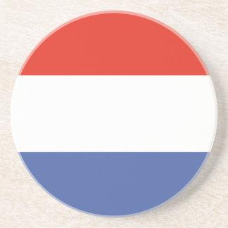 Luxemburg flag coaster
