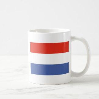 Luxemburg flag coffee mug