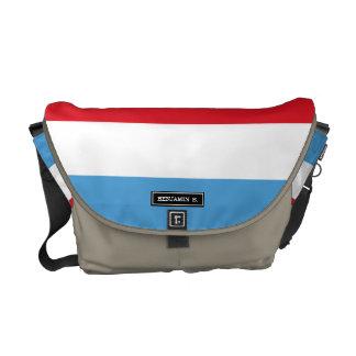 Luxemburg Flag Commuter Bag