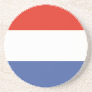 Luxemburg flag drink coaster