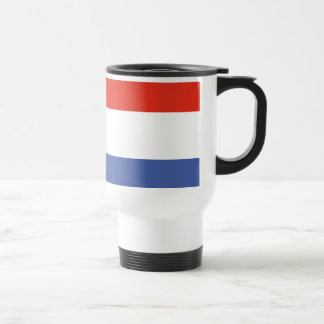 Luxemburg flag travel mug