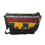 Luxor WInter Palace Messenger Tote Courier Bag
