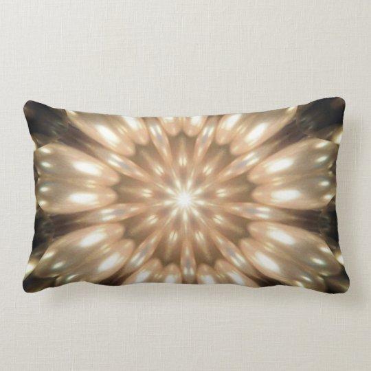 Luxurious Antique Pearls Kaleidoscope Lumbar Pillow