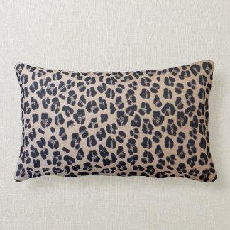 "Luxurious Leopard Print Lumbar Pillow 13"" x 21"""