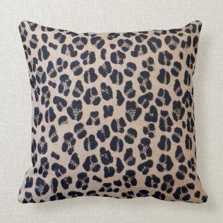 """Luxurious Leopard Print Throw Pillow 20"""" x 20"""""""