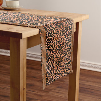 Luxurious Leopard Table Runner