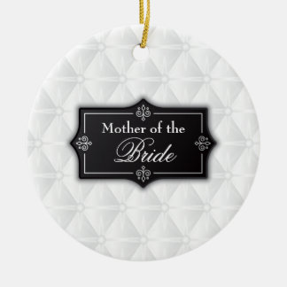 Luxurious Mother of the Bride Wedding   Ornament