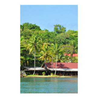 Luxurious resort stationery paper