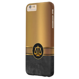Luxury Attorney Theme Barely There iPhone 6 Plus Case