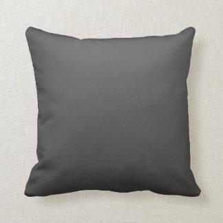 Luxury Black Throw Pillow