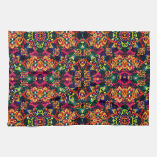 Luxury Boho Baroque Kitchen Towel