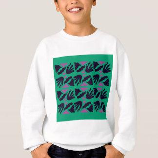 Luxury Collection : hand drawn Smaragd, Green Sweatshirt