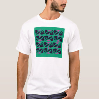 Luxury Collection : hand drawn Smaragd, Green T-Shirt