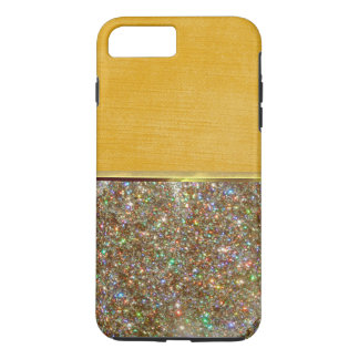 Luxury Cool Shell Gold Suede Design Case
