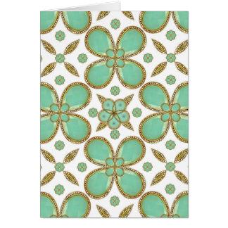 Luxury Decorative Pattern Collage Card