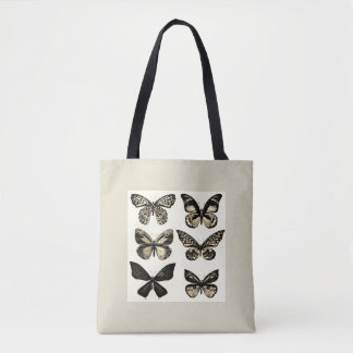Luxury designers bag with Butterflies