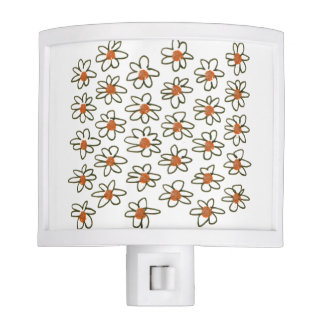 Luxury designers Lamp with florals Nite Light