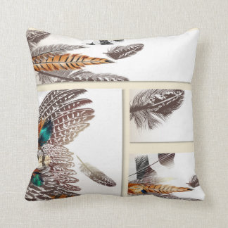 Luxury designers pillow with Feathers