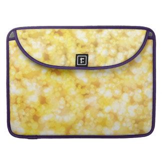 Luxury Diamond Gold MacBook Pro Sleeves