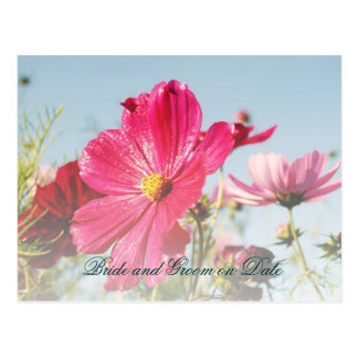 Luxury Elegant Spring Garden Save date card Postcard