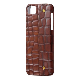 luxury fashion leather skin  VOL1 iPhone 5 Cover