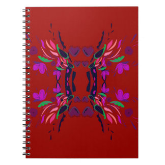 Luxury Folk mexico ethno design Notebook