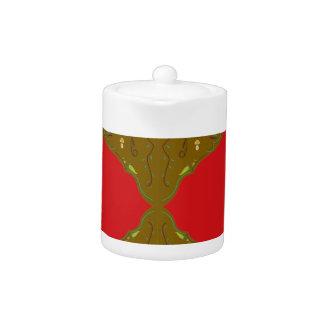 Luxury Folk ornaments brown red