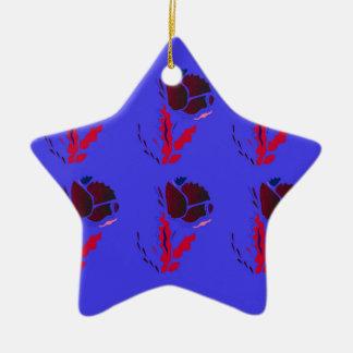 Luxury folk PRODUCTS / TSHIRTS Ceramic Ornament