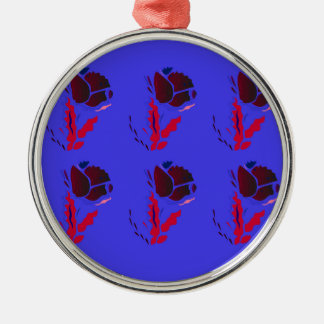 Luxury folk PRODUCTS / TSHIRTS Metal Ornament
