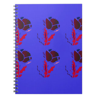 Luxury folk PRODUCTS / TSHIRTS Spiral Notebook