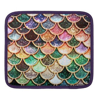 Luxury Glitter Mermaid Scales - Multicolor iPad Sleeve