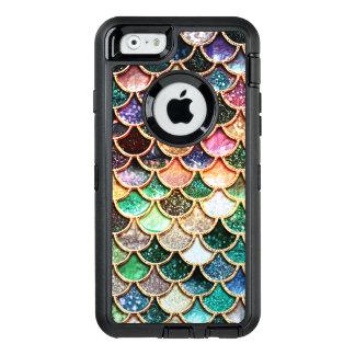 Luxury Glitter Mermaid Scales - Multicolor OtterBox iPhone 6/6s Case