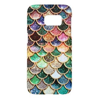 Luxury Glitter Mermaid Scales - Multicolor Samsung Galaxy S7 Case