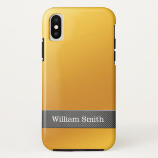 Luxury gold and carbon business Case-Mate iPhone case