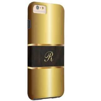 Luxury Gold Colored Tough iPhone 6 Plus Case