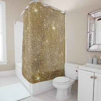 Luxury Gold Glitter - Printed Image